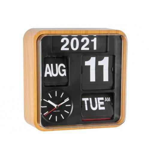 https://www.deco-et-saveurs.com/16877-jqzoom/horloge-murale-design-mini-flip-bamboo-present-time.jpg