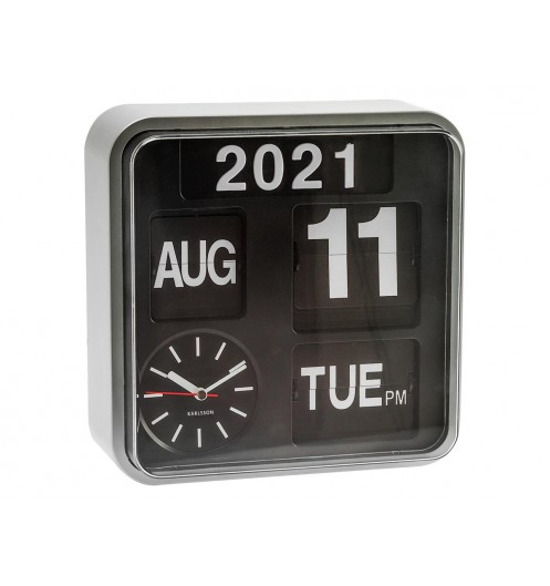 https://www.deco-et-saveurs.com/16883-jqzoom/horloge-murale-design-mini-flip-argent-present-time.jpg