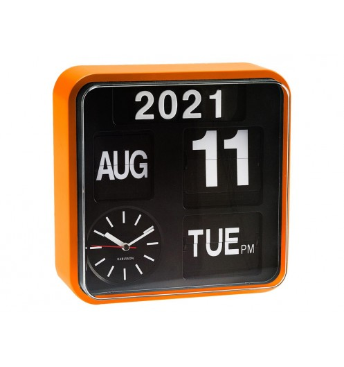 https://www.deco-et-saveurs.com/16884-jqzoom/horloge-murale-design-mini-flip-orange-present-time.jpg