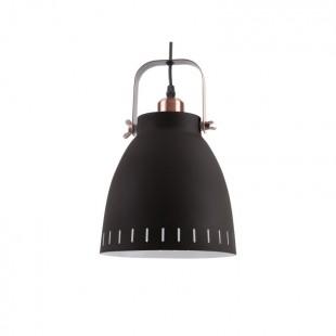 Lampe suspension Mingle mat noir