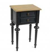 Table de chevet New Legende 2T noir