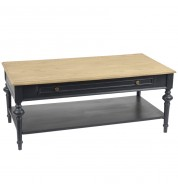 Table basse New Legende noire 1T