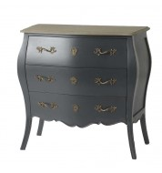 Commode Murano 3T grise