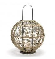 Lanterne Bola bambou naturel