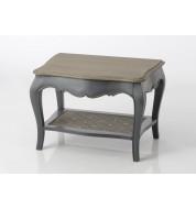 Bout de canapé Murano gris