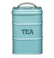 Boite à thé acier bleue KitchenCraft