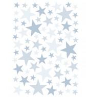 Stickers Étoiles - bleu sweet
