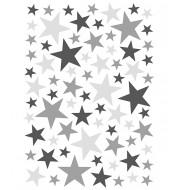 Stickers Étoiles - Gris