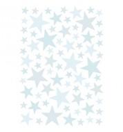 Stickers Étoiles - Bleu ciel