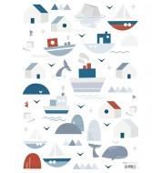 Stickers - Bateaux et maisons