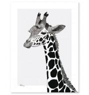 Affiche - La girafe