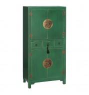 Armoire 4 portes - Chinoise - Vert