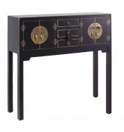 Console 4 portes - Chinoise - Noir