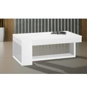 Table basse Polar en bois blanc
