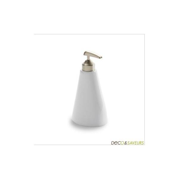 Distributeur de savon design umbra orvino blanc deco et - Distributeur de savon design ...