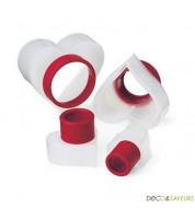 Emporte pièce coeur Cuisipro (5 pièces)