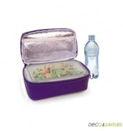 Lunch box isotherme IRIS violet (sac + boite)