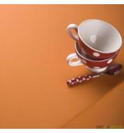 Nappe carrée coton orange (260x260cm) grande nappe