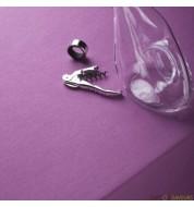 Nappe carrée coton violette (260x260 cm) grande nappe