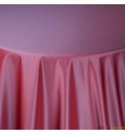 Nappe carrée taffetas violette (240x240 cm) grande nappe