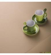 Nappe rectangulaire coton sable (250x380cm) grande nappe