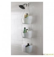 etagere de douche etagere d 39 angle douche deco et saveurs. Black Bedroom Furniture Sets. Home Design Ideas