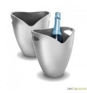 Seau à champagne Pulltex argent