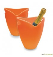 Seau à champagne Pulltex orange