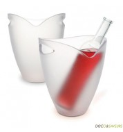 Seau à champagne transparent Pulltex