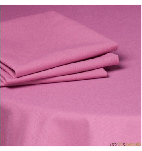 serviette de table tissu coton 50x50cm fushia deco et. Black Bedroom Furniture Sets. Home Design Ideas