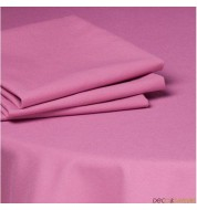 Serviette de table tissu coton (50x50cm) - fushia