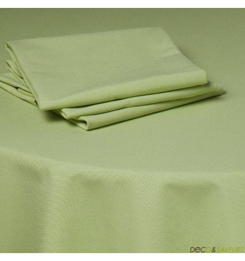 serviette de table tissu coton 50x50cm vert deco et. Black Bedroom Furniture Sets. Home Design Ideas