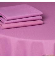 Serviette de table tissu coton (50x50cm) - violette