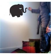 Stickers ardoise autocollant Aristote éléphant