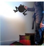 Stickers ardoise autocollant romeo grenouille