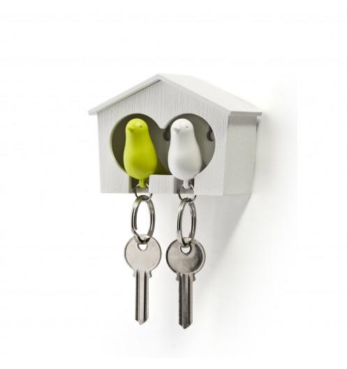 accroche cl mural qualy sparrow vert boutique d coration. Black Bedroom Furniture Sets. Home Design Ideas
