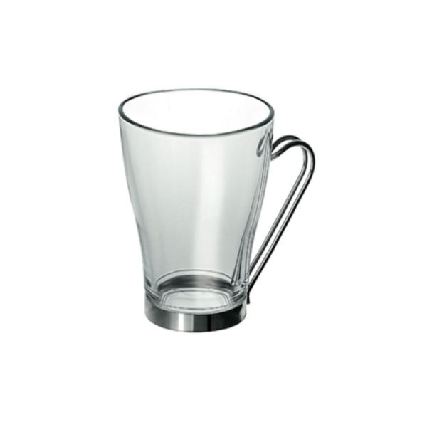 mug en verre transparent hoze home. Black Bedroom Furniture Sets. Home Design Ideas