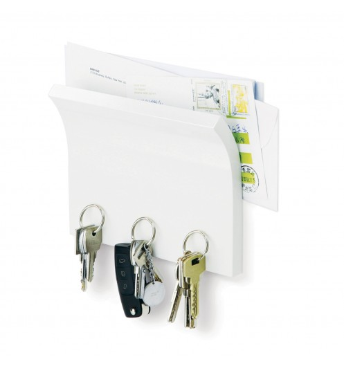 Accroche cl magn tique et porte courrier umbra boutique for Porte courrier mural gifi