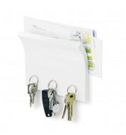 Accroche clé magnétique et porte courrier Umbra