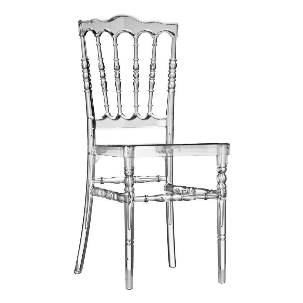chaise napolon iii transparente deco et saveurscom - Chaise Design Transparente