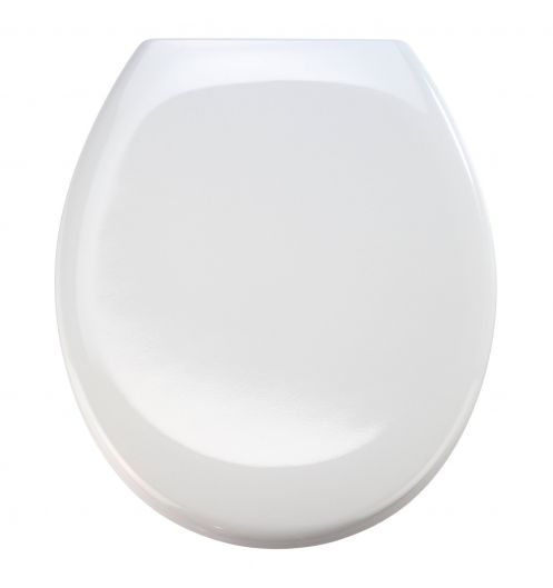 Abattant wc blanc Otanna - lunette de toilette blanche