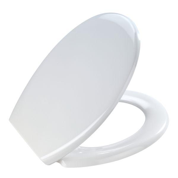 Abattant wc blanc Otanna  lunette de toilette blanc