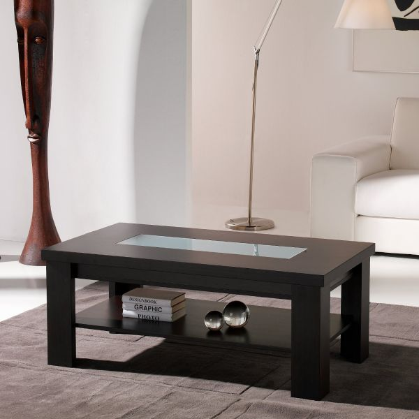 Pin couleur wengejpg on pinterest for Table basse relevable wenge