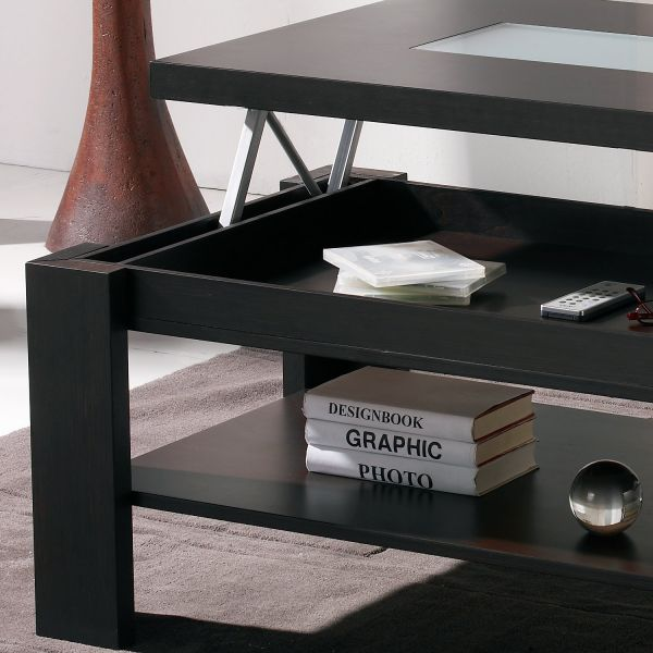 Pin couleur wengejpg on pinterest - Table basse relevable wenge ...