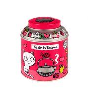 Boite à thé Derrière la porte (passion rose)