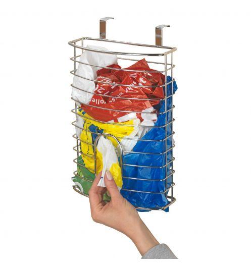 rangement sac plastique en inox rangement cuisine. Black Bedroom Furniture Sets. Home Design Ideas