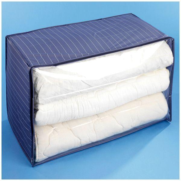 housse de rangement vetement bleue boite de rangement bleue. Black Bedroom Furniture Sets. Home Design Ideas