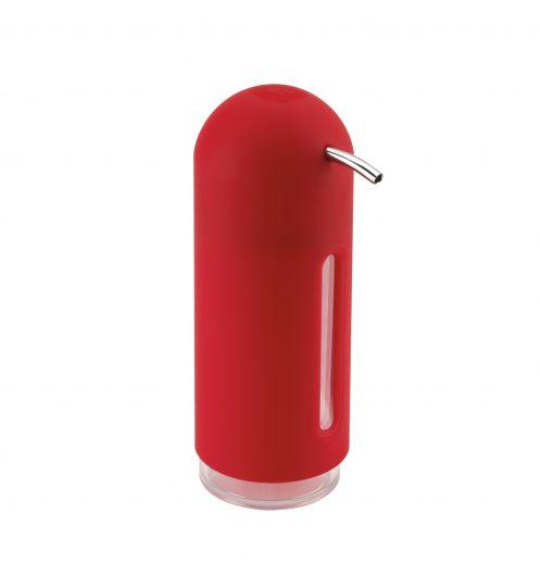 Distributeur de savon rouge deco et for Rangement savon