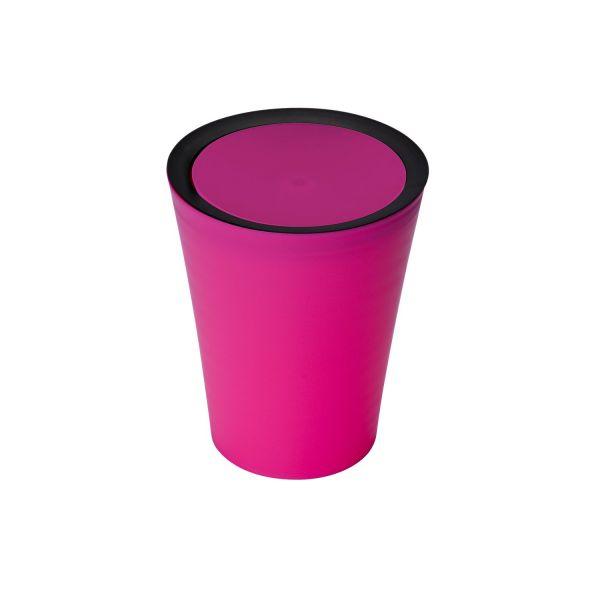 Petite Poubelle Salle De Bain Rose Poubelle Plastique