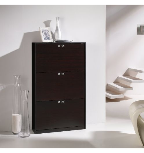 meuble chaussures haut 18 paires weng mobilier. Black Bedroom Furniture Sets. Home Design Ideas